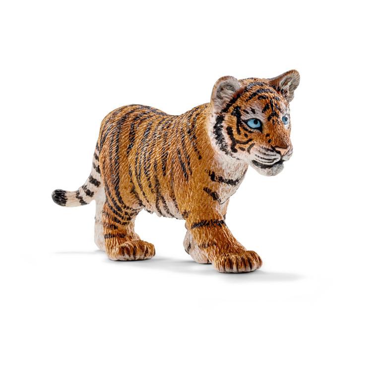 Figurine Bébé Tigre du Bengale Série Animaux Sauvages 7x2x4 cm 245546