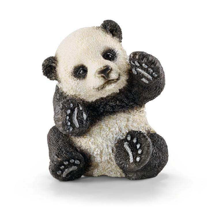 Figurine Bébé Panda jouant Série Animaux Sauvages 3,5x4x4,5 cm 245550