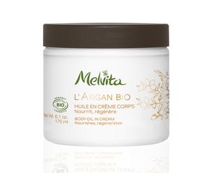 Crème corps l'argan bio Melvita 175 ml 245759
