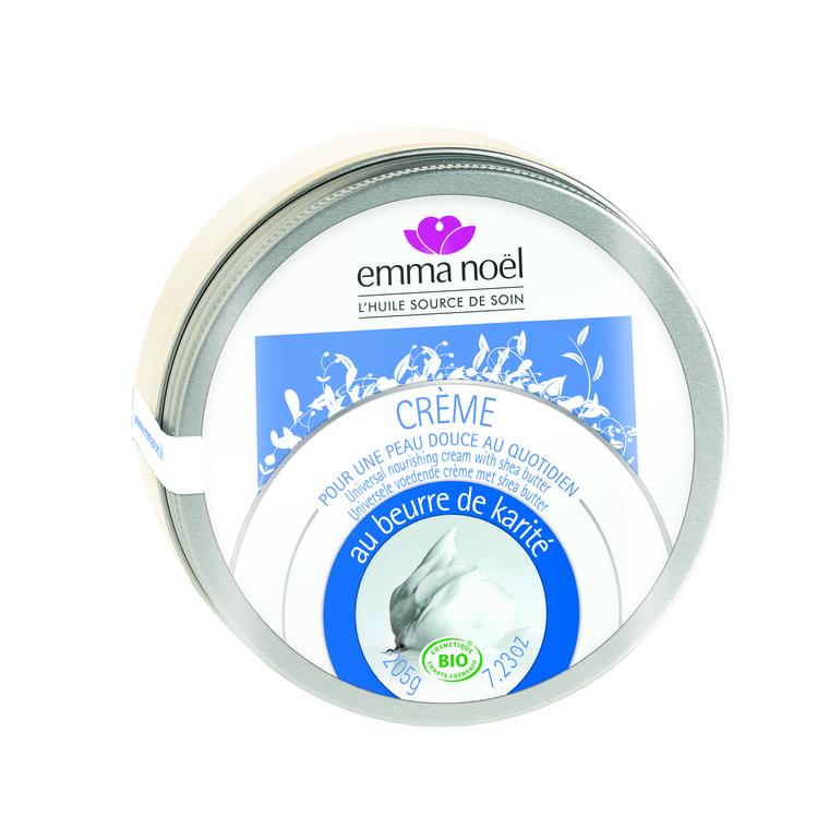Crème au beurre de karité bio en pot de 205 g 245884