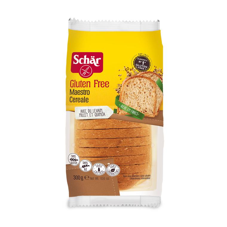 Pain aux céréales du maitre boulanger - 300 gr 245936
