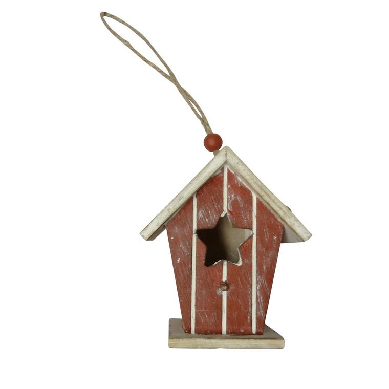 Suspension maison étoile – 20 cm 247095