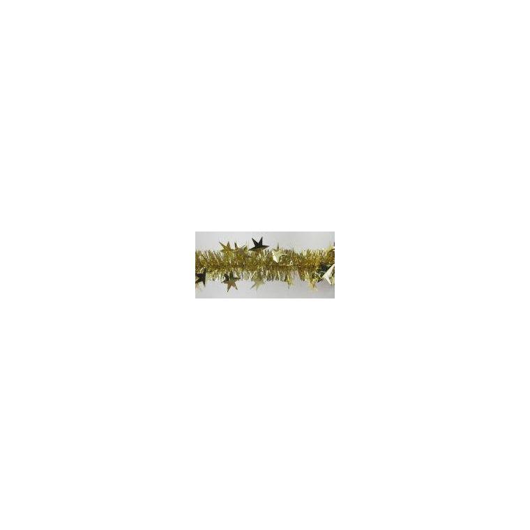 Guirlande dorée avec grandes étoiles 247606