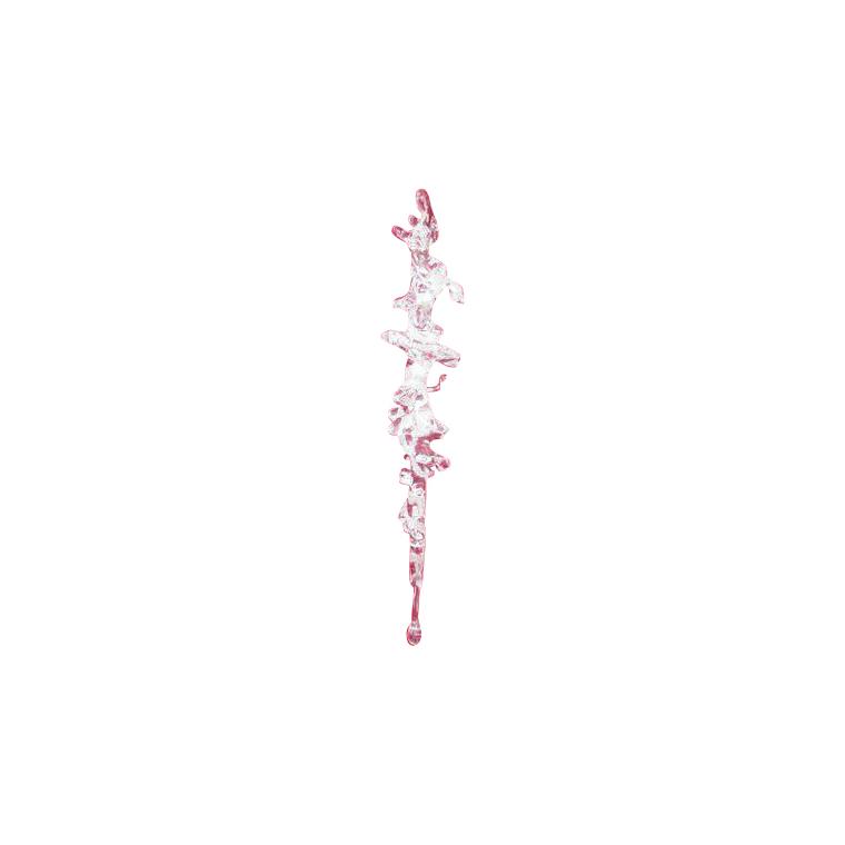 Stalactite spirale à suspendre 17 cm 248263