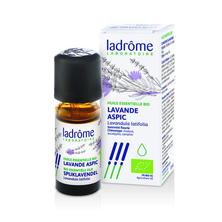 Huile essentielle bio de Lavande aspic Ladrôme - 10 ml 250564
