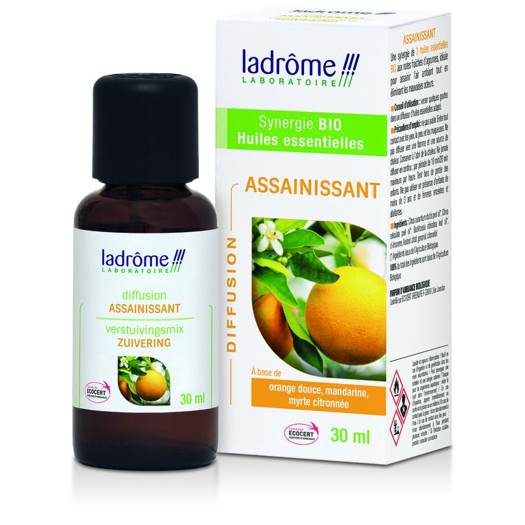 Huile essentielle bio à diffuser assainissant Ladrôme - 30 ml 250570