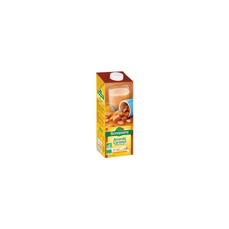 Boisson amande caramel pointe de sel 1 L BONNETERRE 253589