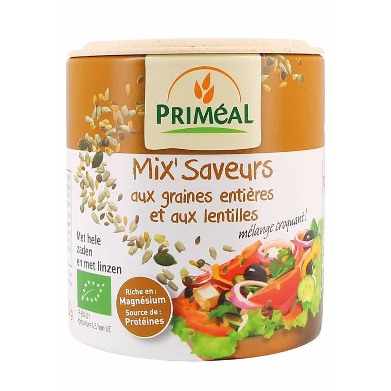 Mix saveurs aux graines et lentilles - 110 gr 255457