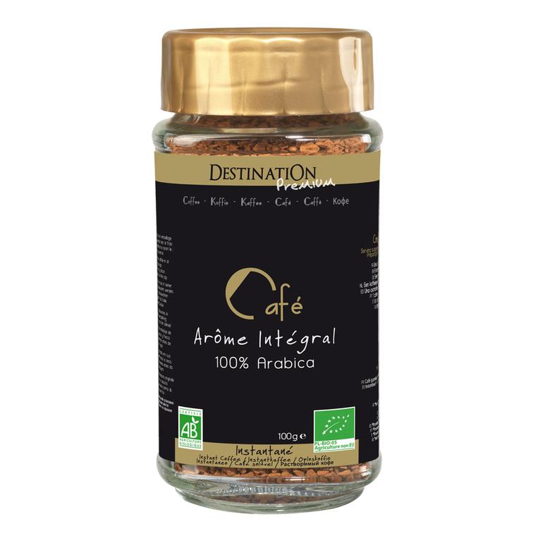 Café instantané lyophilisé Arabica Bio - 100 g 256388