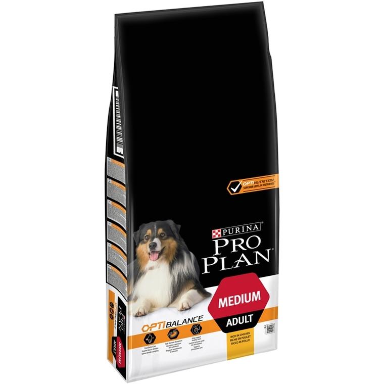 Croquettes pour chien adulte de taille moyenne Pro plan 14 kg 257609