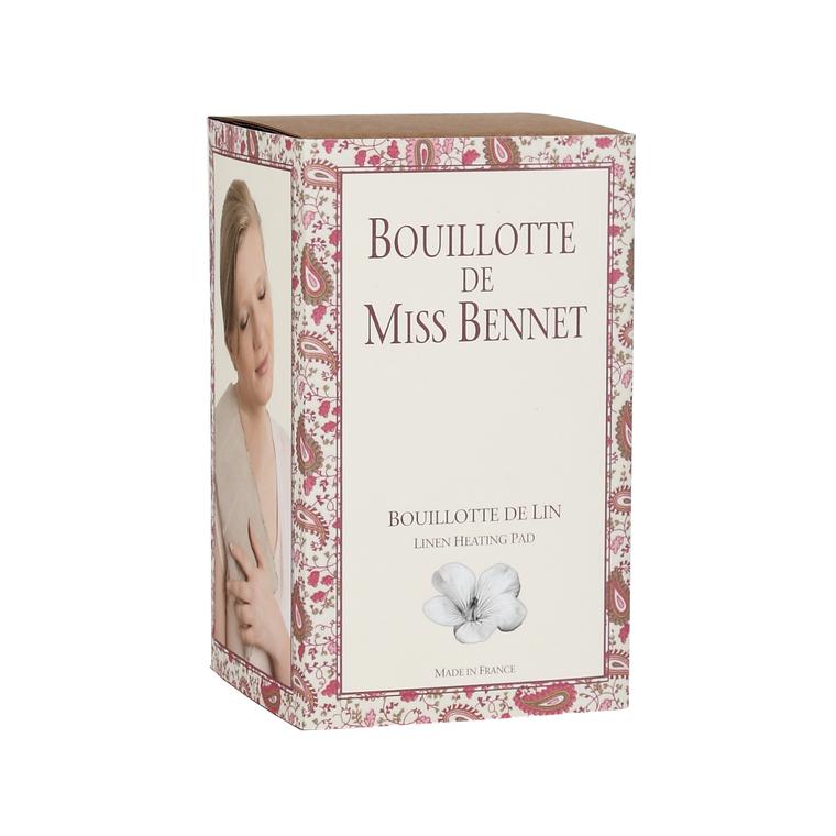 Bouillotte de lin de Miss Bennet 15x47 cm 258370