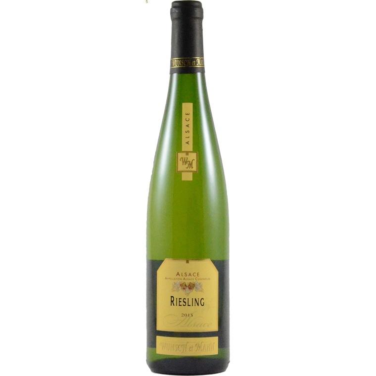 Vin blanc de 2013 Riesling traditionnel bio 75 cl 258425