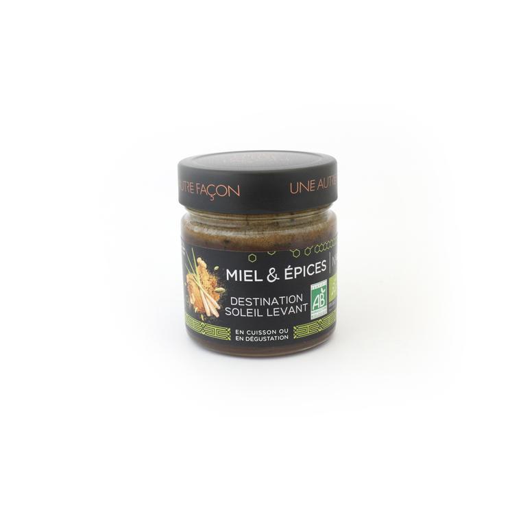 Miel et épices du soleil levant n° 4 en pot de 270 g 258650