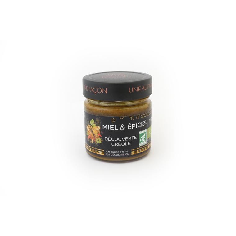 Miel et épices découverte créole n° 7 en pot de 270 g 258652