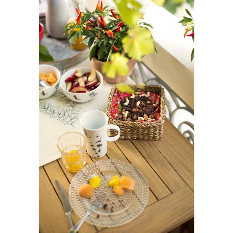 Table en teck rabattable Costa 140 x 90 x 74 cm 259667