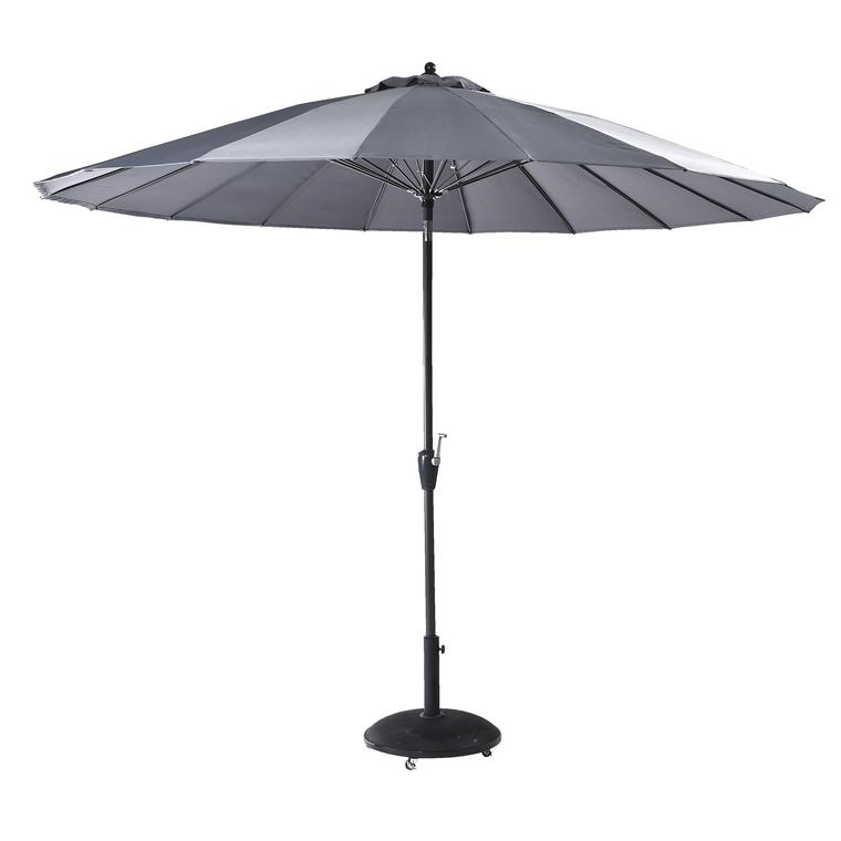 Parasol PAGODE à manivelle Ø3 m perle 259764
