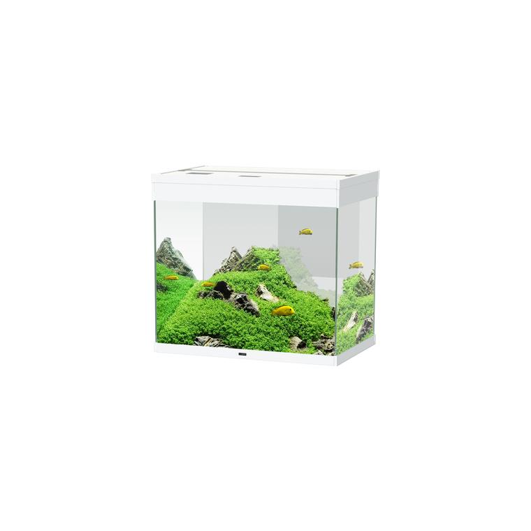 Aquarium émotion nature pro 60 blanc 61 x 40 x 55 cm 260127