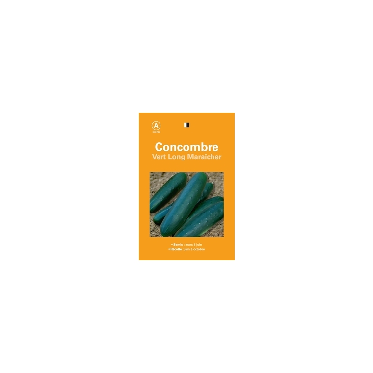 Concombre vert long maraicher 261519