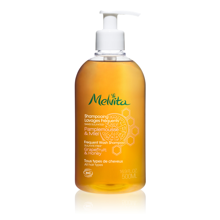 Shampooing Lavages Fréquents Melvita  500 Ml 263998
