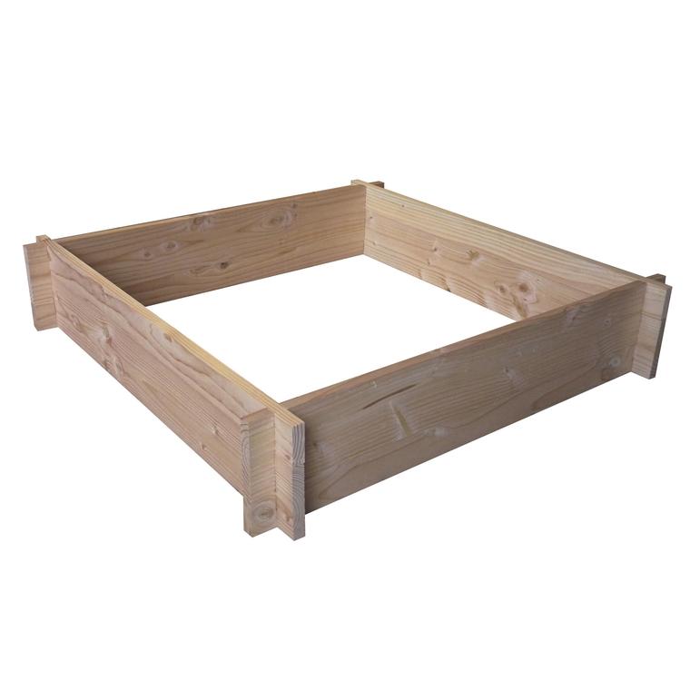 Potager carré brut 90 x 90 x 18 cm  275292