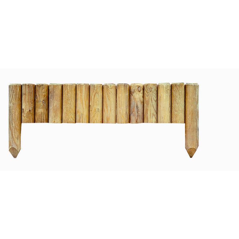 Bordure fixe à planter pin 20 cm x 100 cm 276306