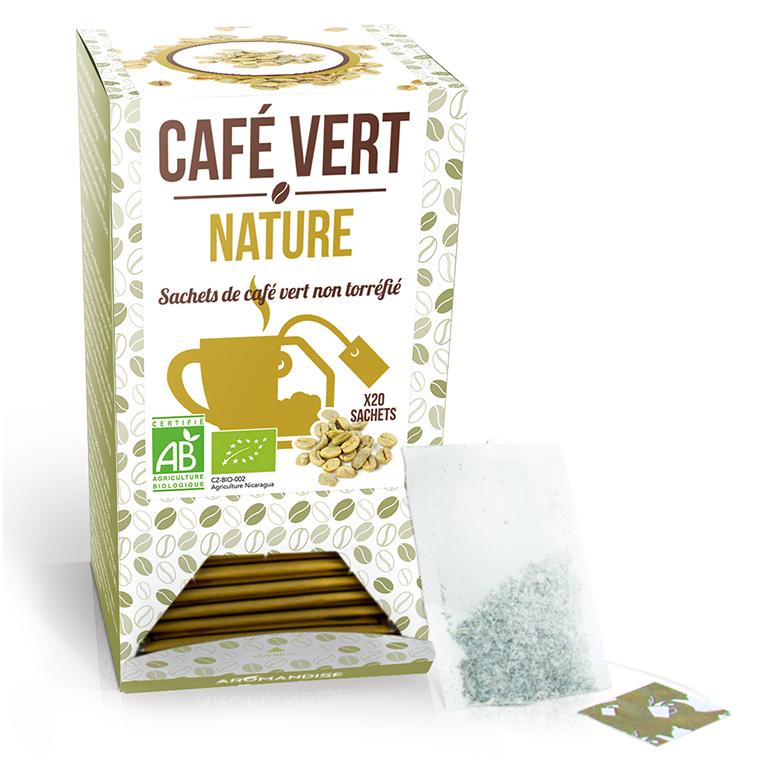Café vert nature bio en boite de 60 g 276366