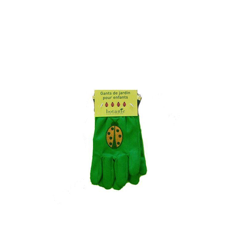 Gants enfant coccinelle vert clair 277034