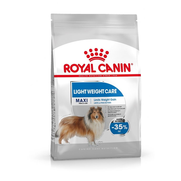 Croquettes pour chien Maxi Light Weight Care Royal Canin - 3 kg 277231