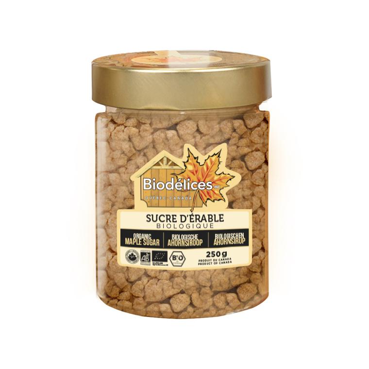 Sucre d'érable en pépites - 250 gr 278452