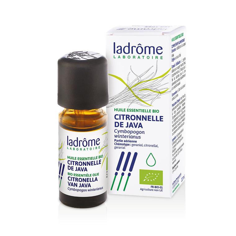 Huile essentielle bio de Citronnelle de Java Ladrôme - 10 ml 288161