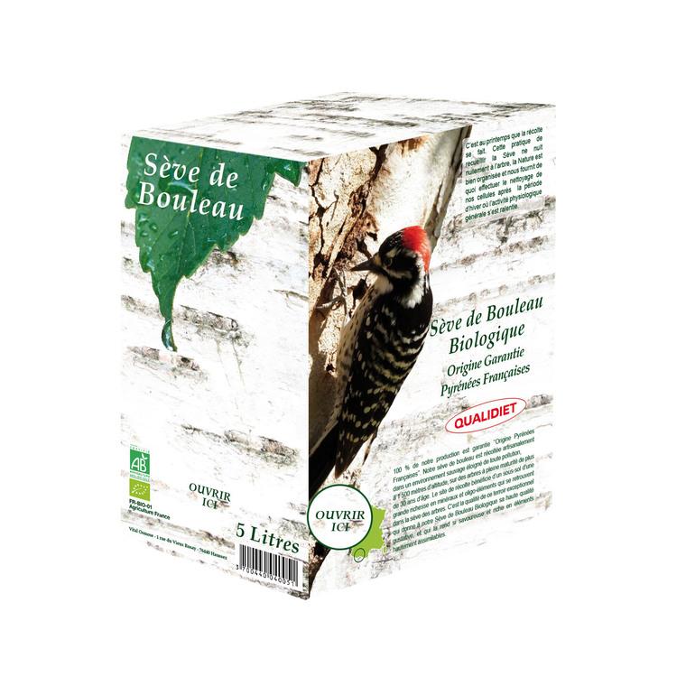 Sève de bouleau des Pyrénées biologique 5 L 291000