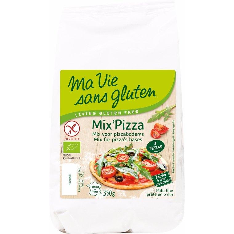 Mix Pizza sans gluten - 350 gr 291982