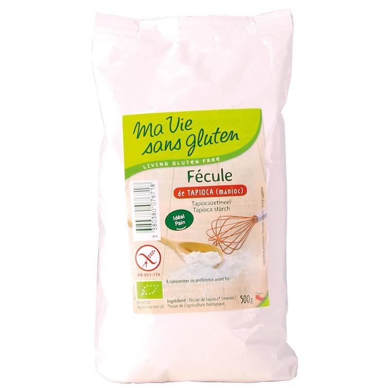 Fécule de tapioca sans gluten - 500 gr 291984
