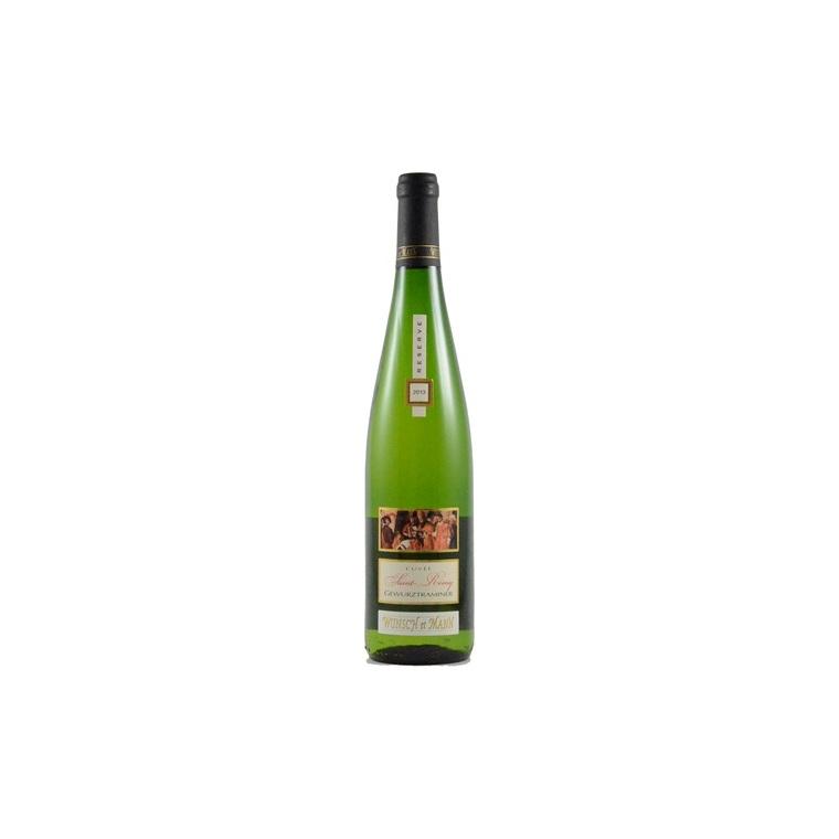 Vin blanc Gewurztraminer Saint Remy bio 75 cl 292206