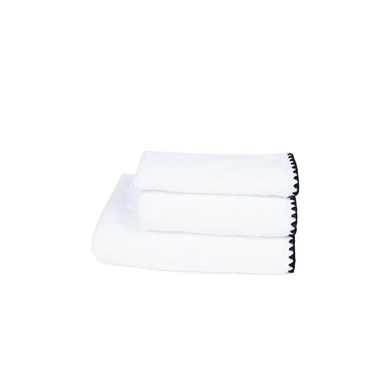 Serviette mini Issey Blanc en coton 30x50 cm 296853