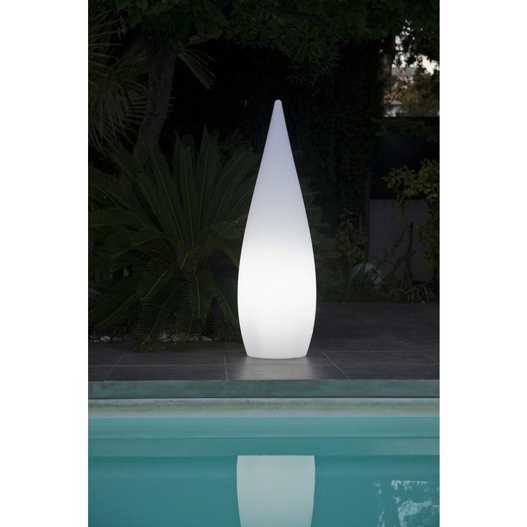Cyprès lumineux blanc 120 cm de haut Classy W120 297683