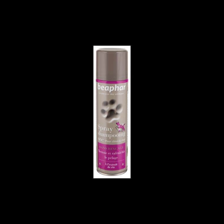 Spray shampoing sec sans rinçage pour chat 250 ml 298611