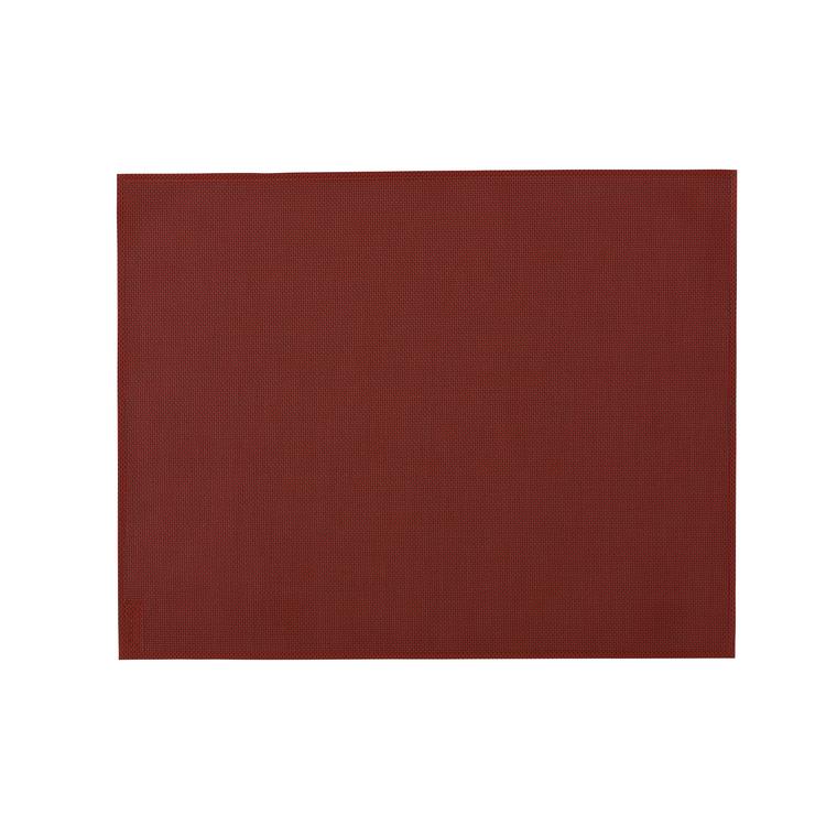 Set de table rouge