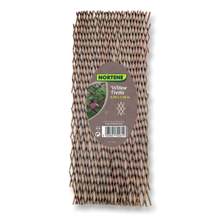 Treillis en osier Willow, 50 x 150 cm