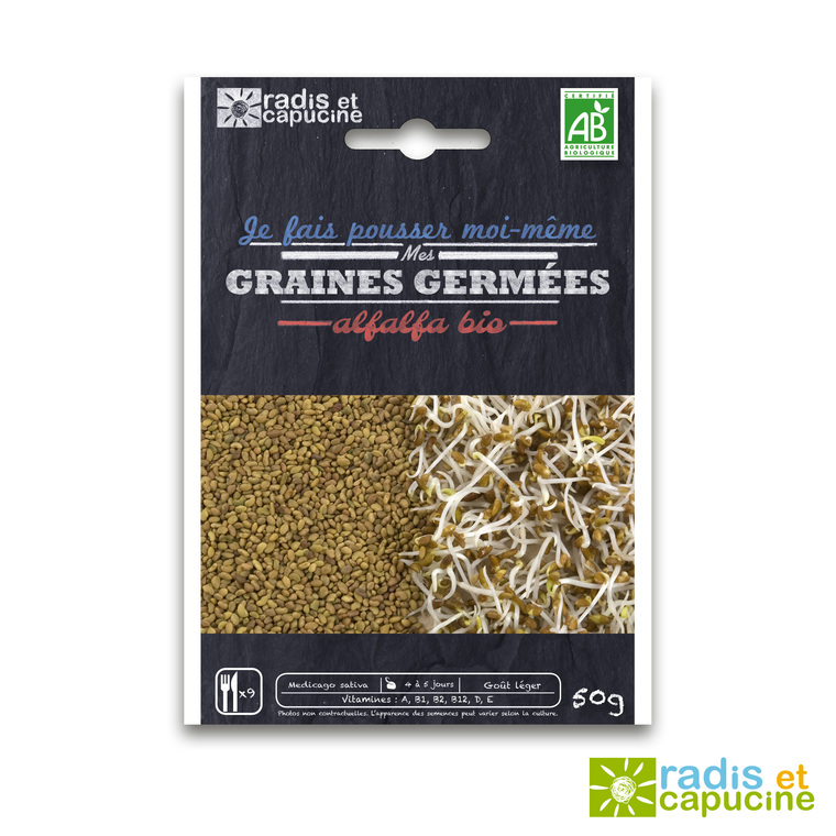 Graines à germer Alfalfa Bio