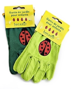 gants de jardinage pour enfant motif coccinelle. Black Bedroom Furniture Sets. Home Design Ideas