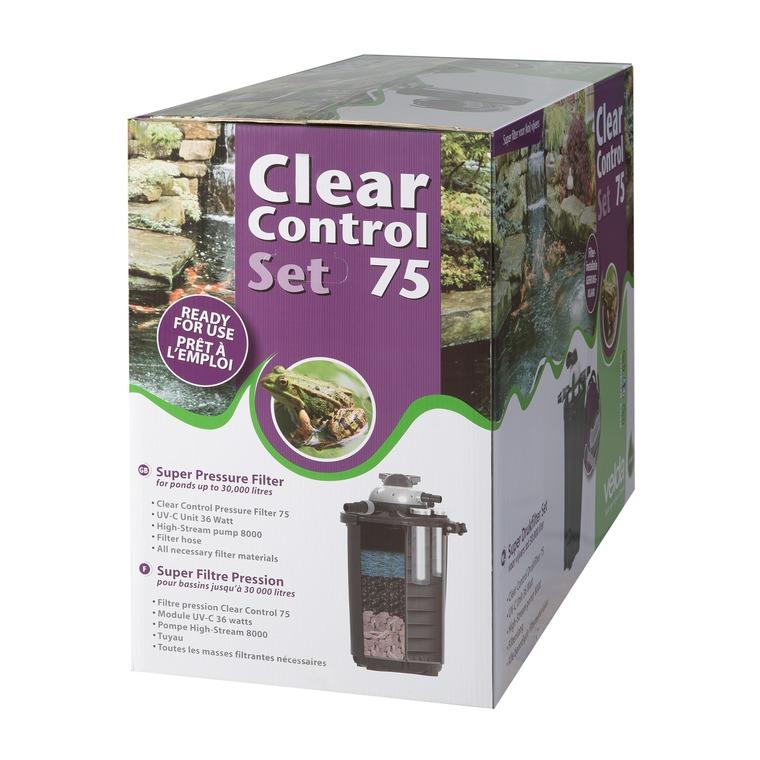 Filtre pression Set Clear Control 75 + Uv-c Unit 36 Watts