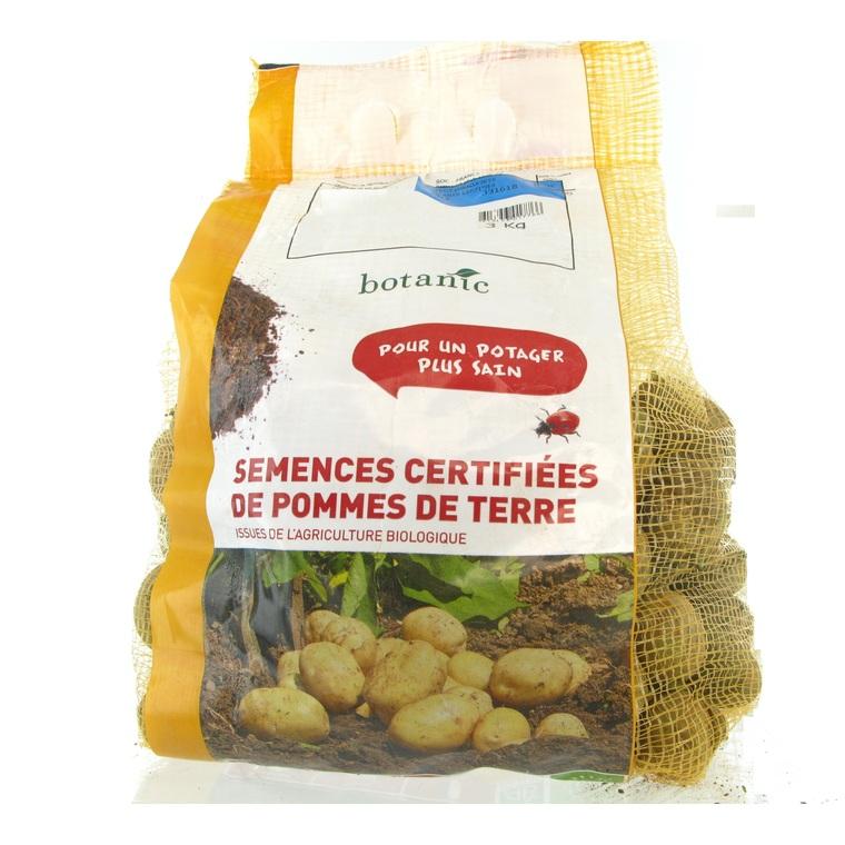 Pommes de terre Primlady bio calibre 0001, 3 kg