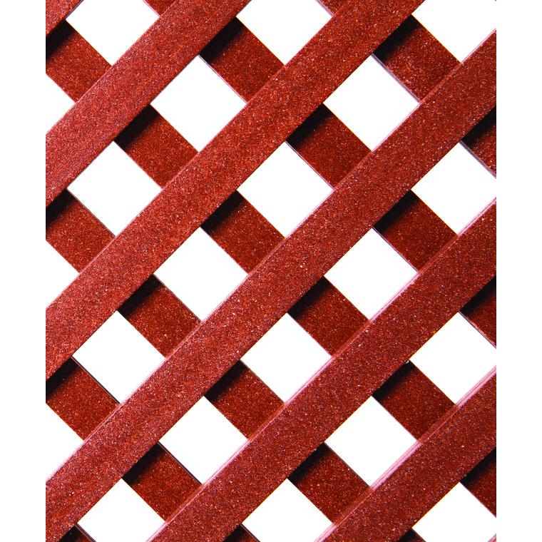 panneau treillis bois ajour castille cm x cm marron vendu par leroy merlin 1735129. Black Bedroom Furniture Sets. Home Design Ideas