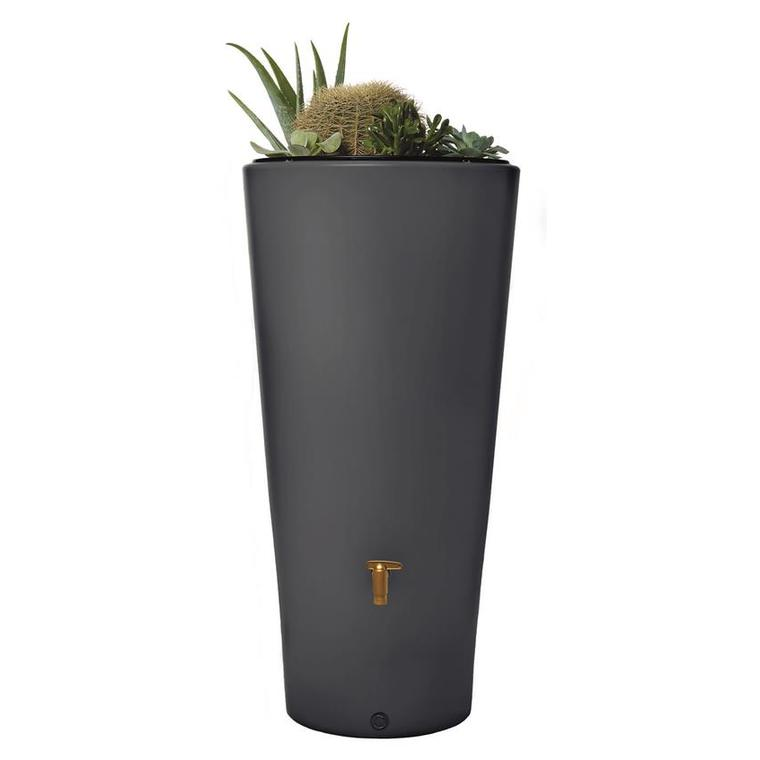 Récupérateur d'eau Vaso 220 Litres graphite