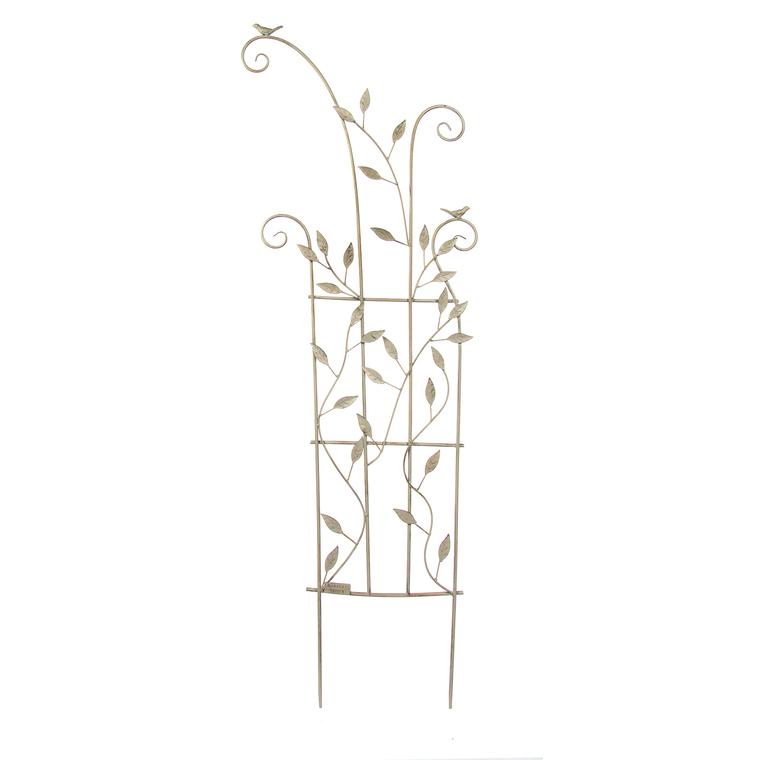 Bordure décorative en métal beige 131 x 43 cm