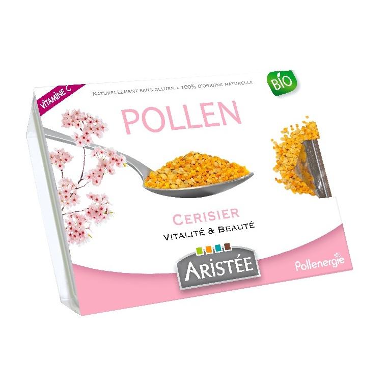Pollen de cerisier bio en barquette de 250 g