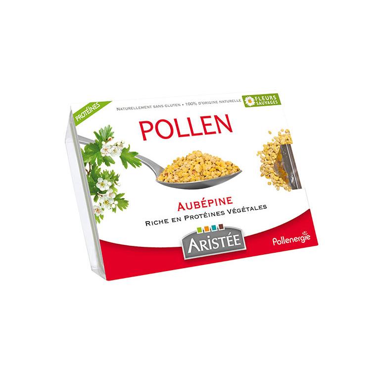 Pollen d'aubépine et de fleurs sauvages en barquette de 250 g