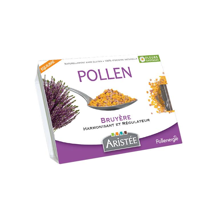 Pollen de bruyère et de fleurs sauvages en barquette de 250 g