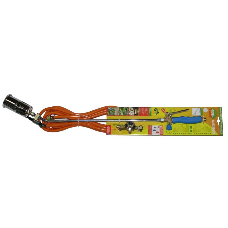 Désherbeur thermique à lance pro bleu acier et PVC 100 cm
